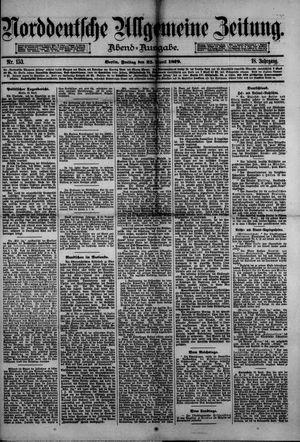Norddeutsche allgemeine Zeitung vom 25.04.1879
