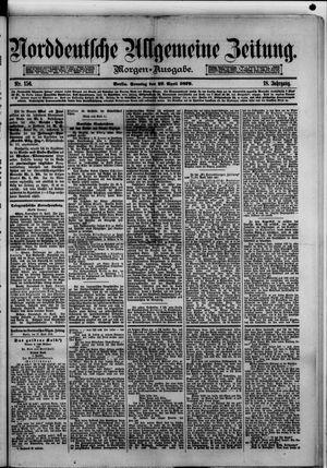 Norddeutsche allgemeine Zeitung on Apr 27, 1879