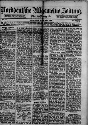 Norddeutsche allgemeine Zeitung vom 28.04.1879
