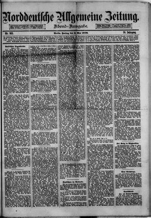 Norddeutsche allgemeine Zeitung on May 2, 1879