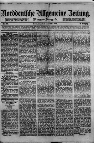 Norddeutsche allgemeine Zeitung vom 03.05.1879