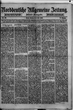 Norddeutsche allgemeine Zeitung vom 05.05.1879