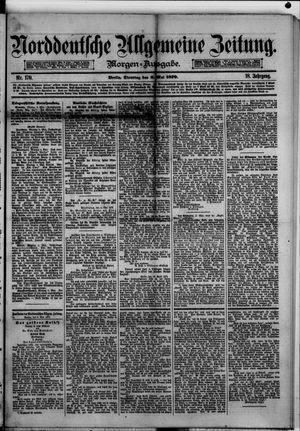 Norddeutsche allgemeine Zeitung vom 06.05.1879
