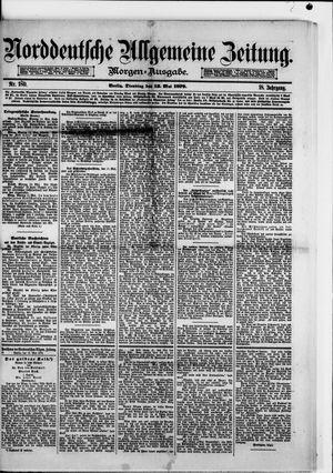 Norddeutsche allgemeine Zeitung vom 13.05.1879