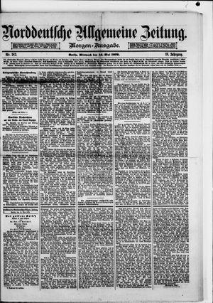 Norddeutsche allgemeine Zeitung vom 14.05.1879