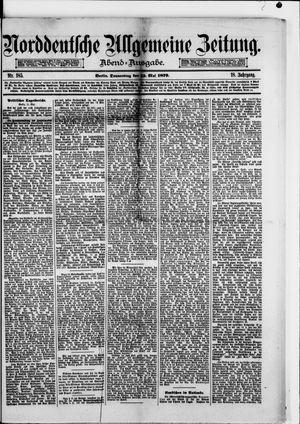 Norddeutsche allgemeine Zeitung vom 15.05.1879