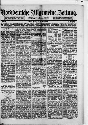 Norddeutsche allgemeine Zeitung on May 16, 1879