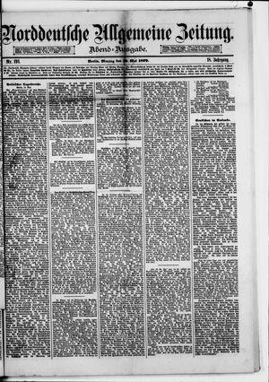 Norddeutsche allgemeine Zeitung vom 19.05.1879
