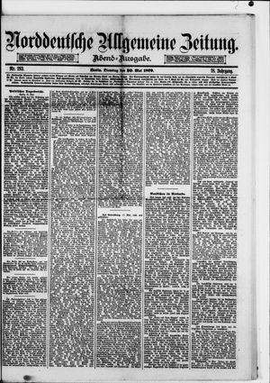 Norddeutsche allgemeine Zeitung vom 20.05.1879
