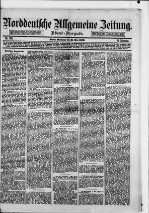 Norddeutsche allgemeine Zeitung vom 21.05.1879