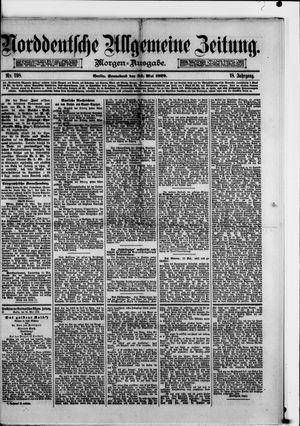 Norddeutsche allgemeine Zeitung vom 24.05.1879
