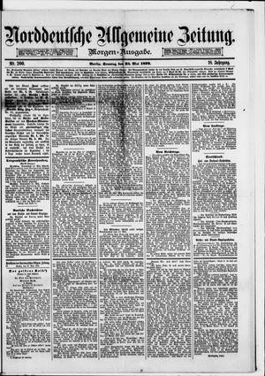 Norddeutsche allgemeine Zeitung vom 25.05.1879