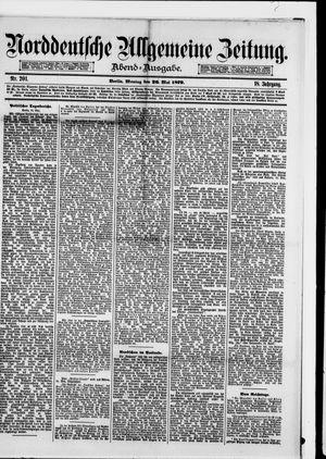 Norddeutsche allgemeine Zeitung vom 26.05.1879