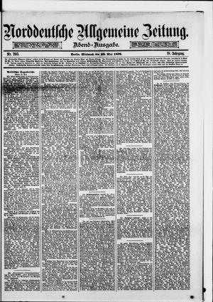 Norddeutsche allgemeine Zeitung vom 28.05.1879