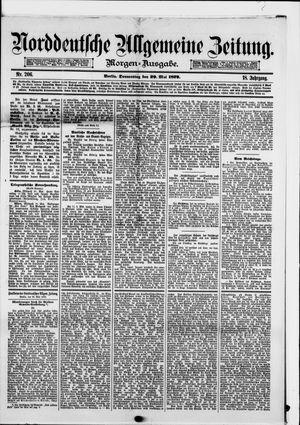 Norddeutsche allgemeine Zeitung vom 29.05.1879