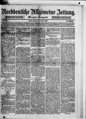 Norddeutsche allgemeine Zeitung vom 01.06.1879