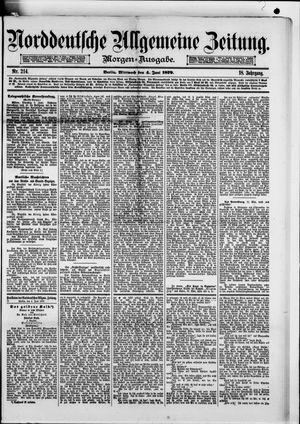 Norddeutsche allgemeine Zeitung vom 04.06.1879