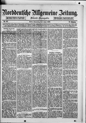 Norddeutsche allgemeine Zeitung vom 05.06.1879