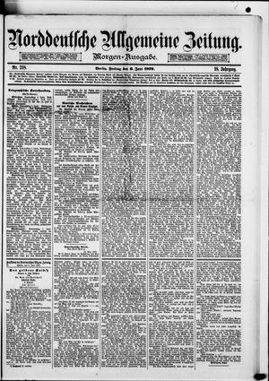 Norddeutsche allgemeine Zeitung vom 06.06.1879