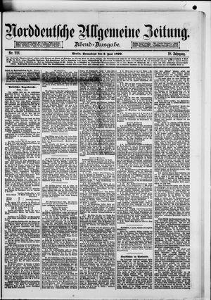 Norddeutsche allgemeine Zeitung vom 07.06.1879