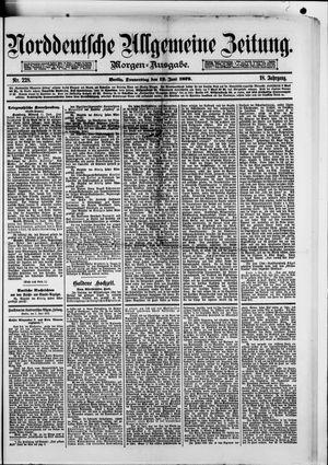 Norddeutsche allgemeine Zeitung vom 12.06.1879