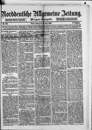 Norddeutsche allgemeine Zeitung vom 13.06.1879