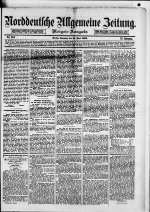Norddeutsche allgemeine Zeitung on Jun 15, 1879
