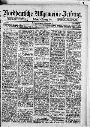 Norddeutsche allgemeine Zeitung vom 16.06.1879