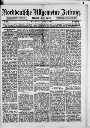 Norddeutsche allgemeine Zeitung vom 17.06.1879
