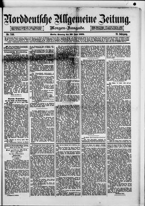 Norddeutsche allgemeine Zeitung vom 22.06.1879