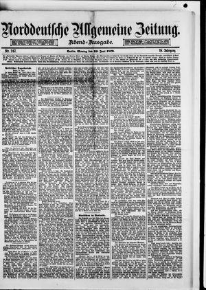 Norddeutsche allgemeine Zeitung vom 23.06.1879