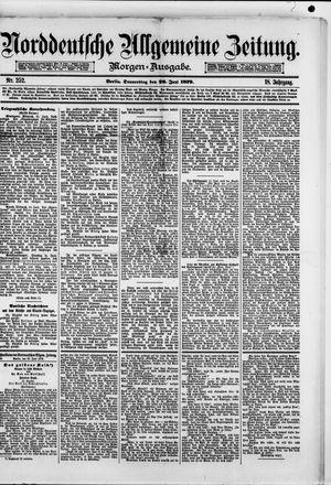 Norddeutsche allgemeine Zeitung vom 26.06.1879