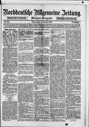 Norddeutsche allgemeine Zeitung vom 27.06.1879