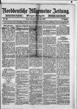 Norddeutsche allgemeine Zeitung vom 28.06.1879