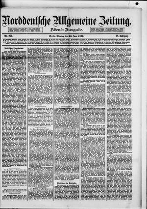 Norddeutsche allgemeine Zeitung vom 30.06.1879