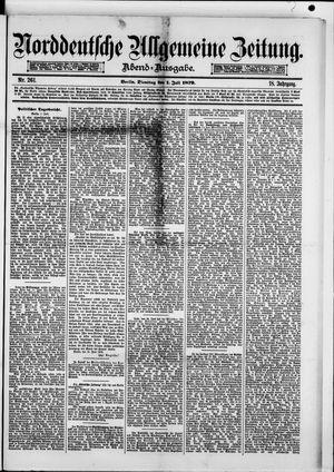 Norddeutsche allgemeine Zeitung vom 01.07.1879