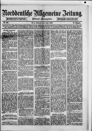 Norddeutsche allgemeine Zeitung vom 02.07.1879
