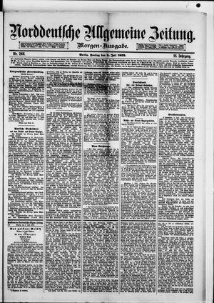 Norddeutsche allgemeine Zeitung vom 04.07.1879