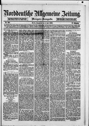 Norddeutsche allgemeine Zeitung vom 05.07.1879