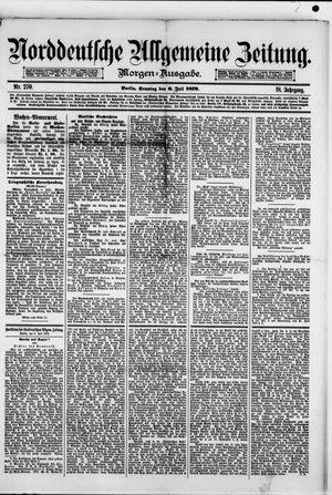 Norddeutsche allgemeine Zeitung vom 06.07.1879
