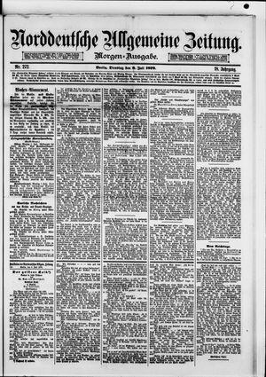 Norddeutsche allgemeine Zeitung vom 08.07.1879