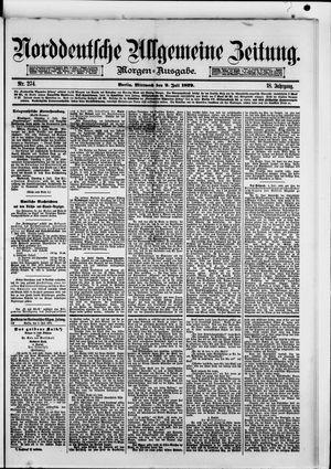 Norddeutsche allgemeine Zeitung vom 09.07.1879