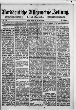 Norddeutsche allgemeine Zeitung vom 11.07.1879