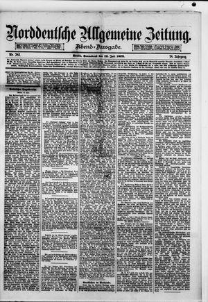 Norddeutsche allgemeine Zeitung vom 12.07.1879