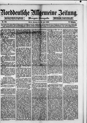 Norddeutsche allgemeine Zeitung vom 20.07.1879