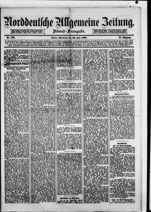 Norddeutsche allgemeine Zeitung on Jul 23, 1879