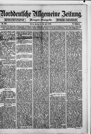 Norddeutsche allgemeine Zeitung vom 25.07.1879