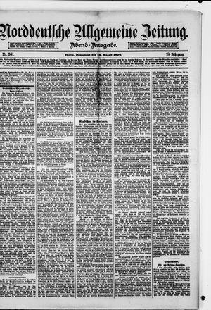 Norddeutsche allgemeine Zeitung vom 16.08.1879