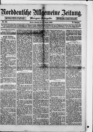 Norddeutsche allgemeine Zeitung vom 17.08.1879