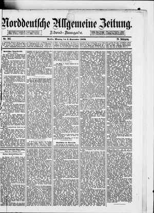 Norddeutsche allgemeine Zeitung on Sep 1, 1879